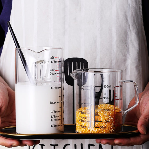 Borosilicate Glass Measuring Cup