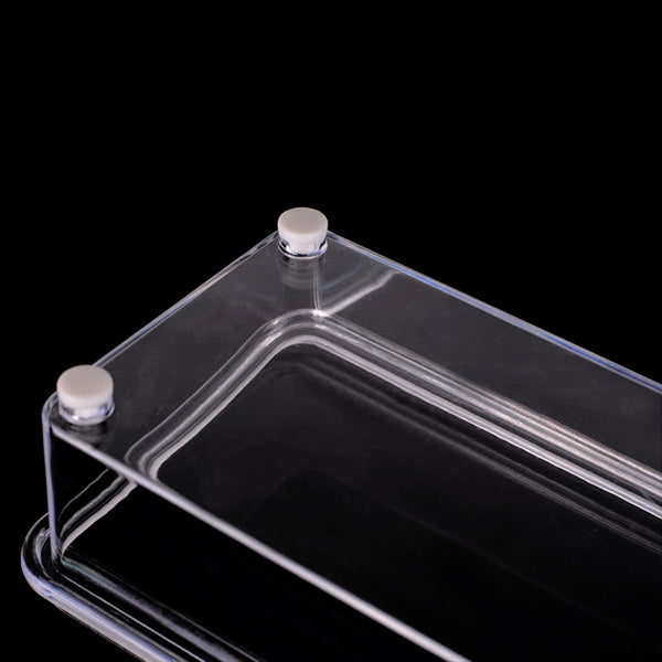 Clear Cruet Storage Container