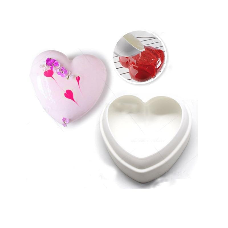 Silicone Heart Shape Mold Baking