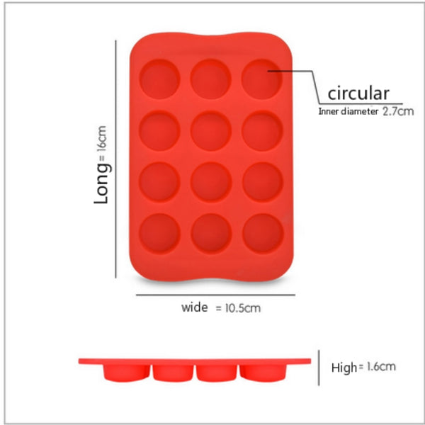 Cup Silicone Baking Tray