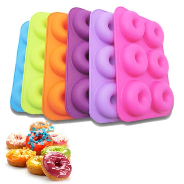 Donut Rubber Baking Tray