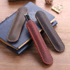 Image of Handmade Genuine Leather Fountain Pen Bag