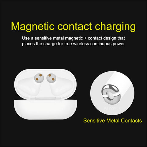 Smart Wireless Earbuds with Charging Case
