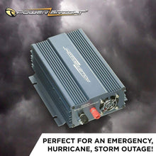 Load image into Gallery viewer, PowerBright 24 Volts Pure Sine Power Inverter 300 Watt image of perfect for an emergency, hurricane, storm outage