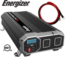 Load image into Gallery viewer, Energizer 1100 Watt 12V Power Inverter main image
