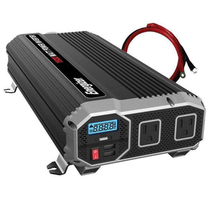 Energizer ENK1500 - 1500 Watt 12v DC to 110v AC Power Inverter Kit main image