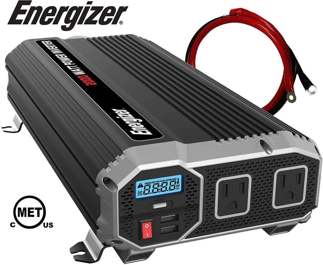 ENERGIZER 2000 Watt 12V Power Inverter main image