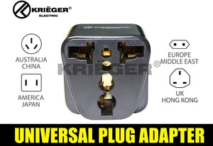 Krieger Plug Adapters 2-in-1 image of universal plug adapter