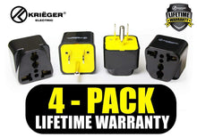 Load image into Gallery viewer, Krieger KR-AUS4 image of 4-pack lifetime warranty