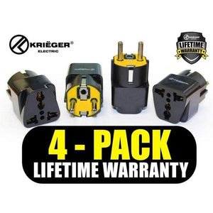 Krieger KR-GRM4 image of 4-pack lifetime warranty