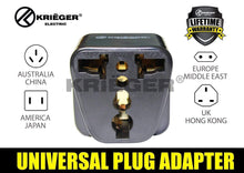 Load image into Gallery viewer, Krieger KR-UKB4 image of universal plug adapter