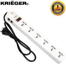 Load image into Gallery viewer, KRIEGER Universal Power Strip AC 220-240V main image