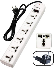 Load image into Gallery viewer, KRIEGER Universal Power Strip AC 220-240V image of product inclusion