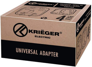 Krieger Plug Adapters Type I  image of box