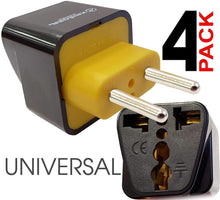 Load image into Gallery viewer, Krieger Plug Adapters Type C image of 4pack universal