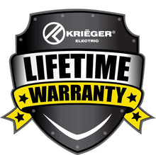 Load image into Gallery viewer, Krieger KU-TRA3 image of lifetime warranty