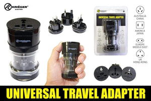 Krieger KU-TRA3 image of universal travel adapter