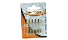 Load image into Gallery viewer, PowerBright F8A - 8 Amp Glass Fuse product image
