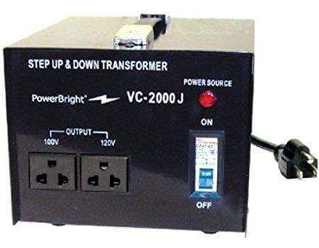 PowerBright VC2000J - 2000 Watt main image