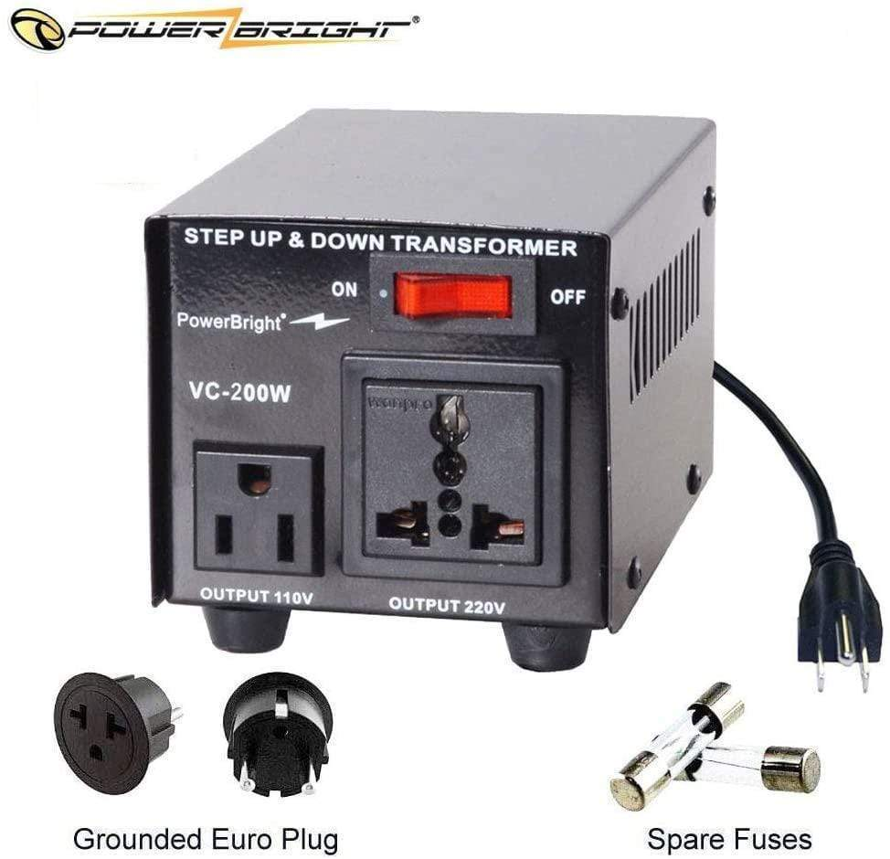 VC200W PowerBright Step Up & Down Transformer mian image