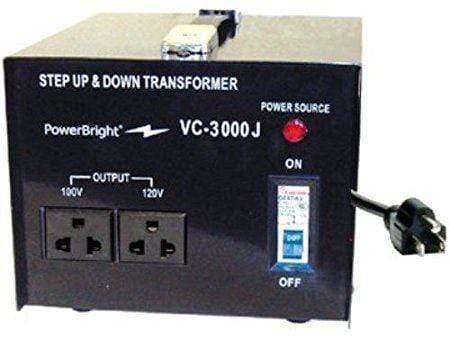 PowerBright VC3000J - 3000 Watt main image