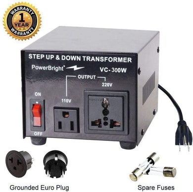 VC300W PowerBright Step Up & Down Transformer main image