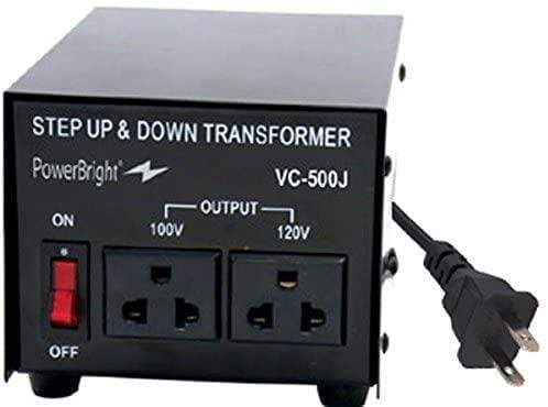 VC500J PowerBright 500 Watts Japanese Voltage Transformers main image