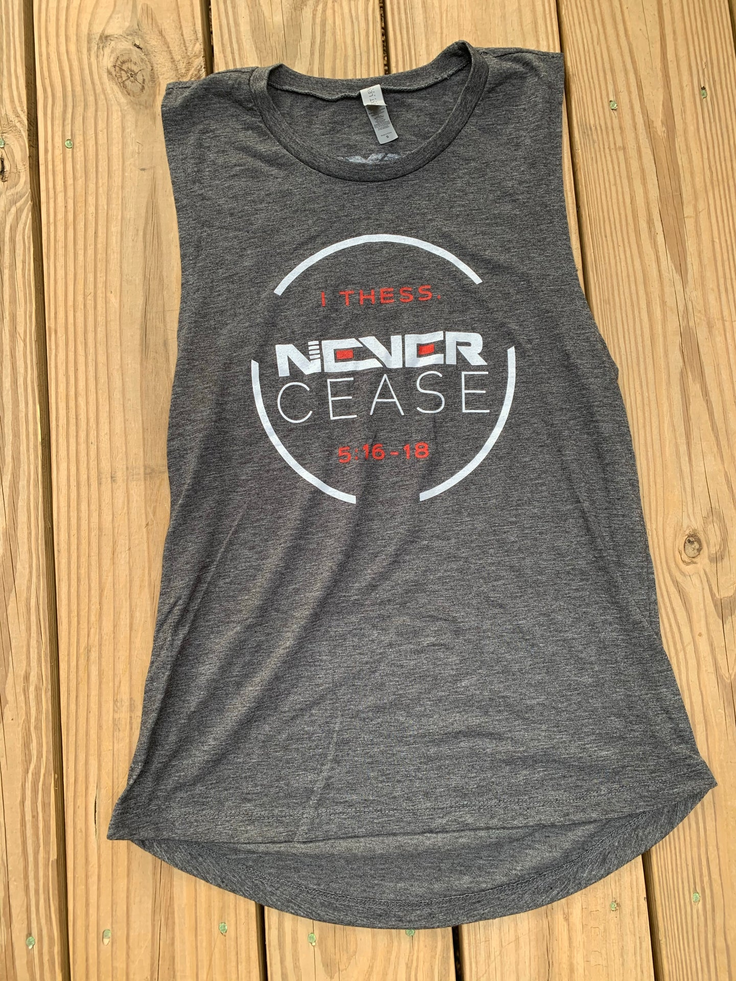 Never Cease Women's Tank
