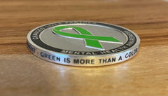 """Changed Lives"" Challenge Coin"