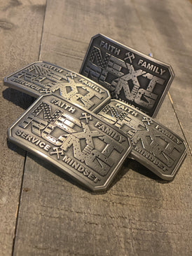 4 Pillars Belt Buckle
