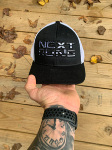 Classic NR Blacked Out Flag Hat (Flex-fit)
