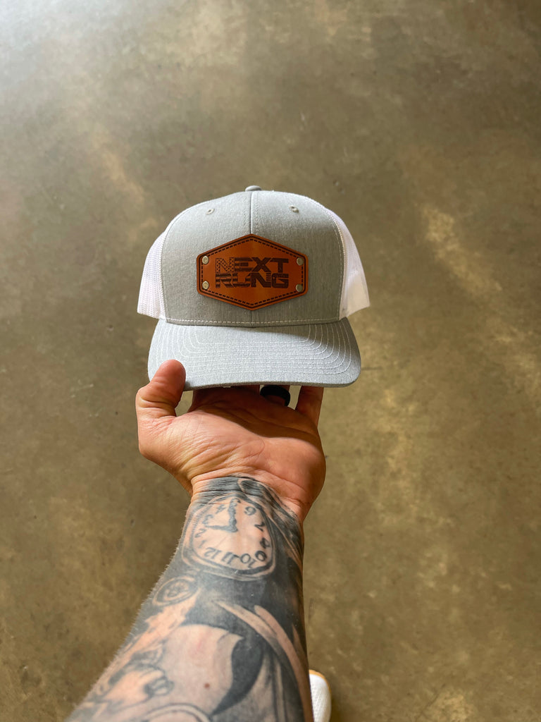 Classic NR Leather Patch Hat
