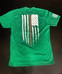 Red Line Green T