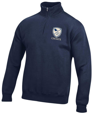 Gear For Sports® Big Cotton® 1/4 Zip With Shield