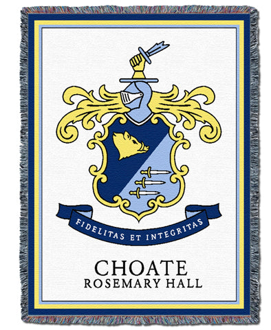 Choate Rosemary Hall Heritage Throw