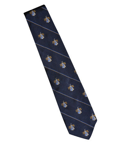 Silk Neck Tie w/School Seal