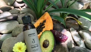 dindi papaya body oil