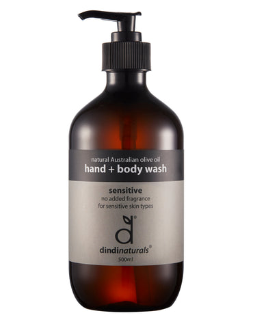hand + body wash sensitive 500ml #5520 (rrp$22) x 3pk