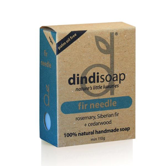 fir needle boxed bar soap 110g  #1011 (rrp$7) x 3pk