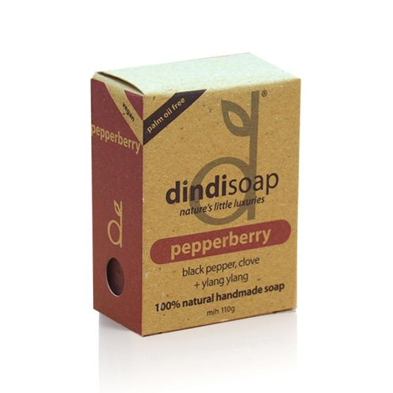 pepperberry boxed bar soap 110g #1038  (rrp$7) x 3pk