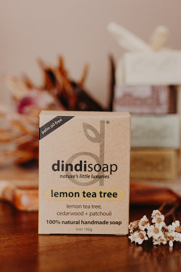 lemon tea tree boxed bar soap 110g  #1024 (rrp $7) x 3pk