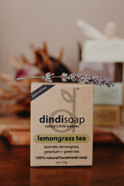lemongrass tea boxed bar soap 110g  #1026 (rrp$7) x 3pk