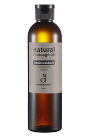 massage oil lemon ironbark 250ml #3301 (rrp$18)