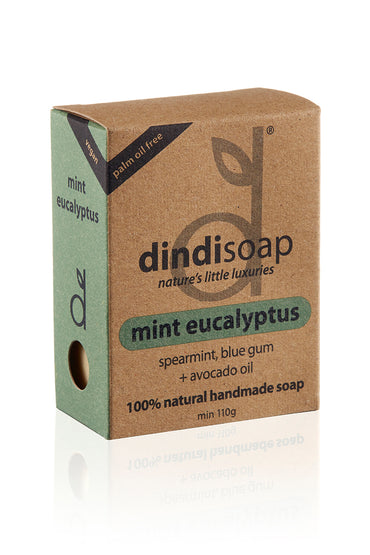 mint eucalyptus boxed bar soap 110g # 1030 (rrp$7) x 3pk