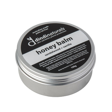honey balm sandalwood + vanilla 100g #31071 (rrp$38)