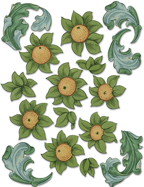V&A Morris Citrus Orchard DIE•CUTS