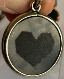 Limited Edition Shungite Heart and Paw Pendant