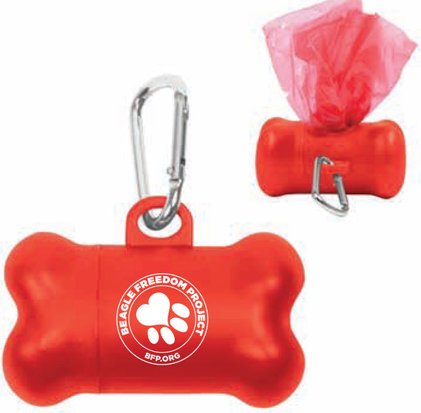 Animal | Stamp Logo | Poop Bag Dispenser
