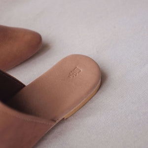 Studio Slide - Oak Leather