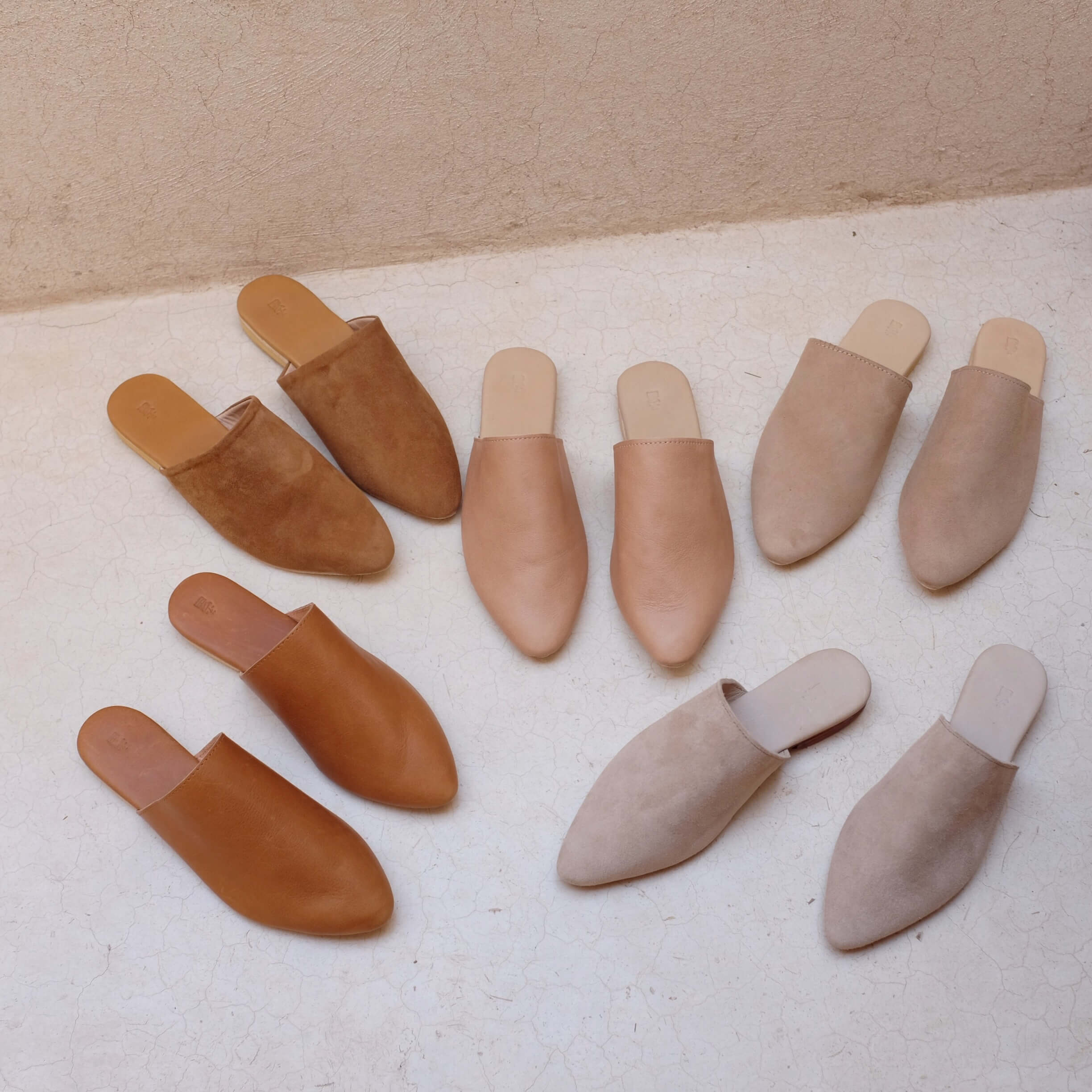 Studio Slide - Almond Leather